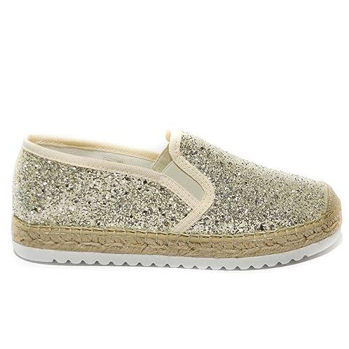 Vidorreta - Alpargatas para mujer dorado Hiello dorado Size: 41: Amazon.es: Zapatos y complementos