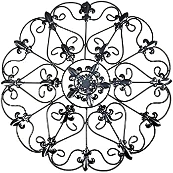 Attractive Amazon.com: Iron Wall Medallion - Authentic Wall Decor: Home & Kitchen IM72
