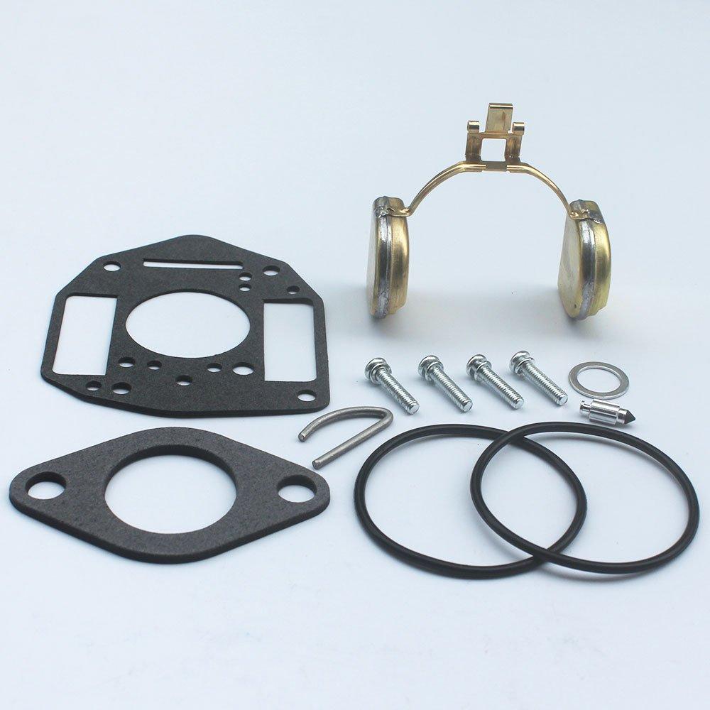 KIPA Carburetor Repair Rebuild kit For Onan Engine P126G P128G P220G OL16 OL18 OL20 LX720 LX770 LX790 B48G-GA020 B48G-GA19.9 OEM # 146-0657 Replace NIKKI Carburetor 146-6100 146-0479 146-0414 146-0496