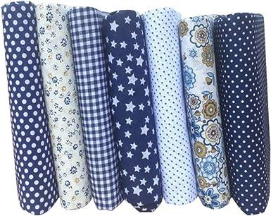 LUOEM 14Pcs Cuadrados de Paquete de Tela de Algodón para Patchwork Acolchado Patrones de Costura DIY Manualidades Ropa de Cama: Amazon.es: Ropa y accesorios
