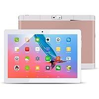 Kivors 4G Tablet PC-Tablet DE 10.1 Pulgadas IPS HD (Octa-Core Processor, 2GB RAM, 32GB ROM, Android 7.0, Dual Sim Tarjeta, 1920x1200 Resolución, Dual Camera, WiFi, Bluetooth 4.0, OTG)