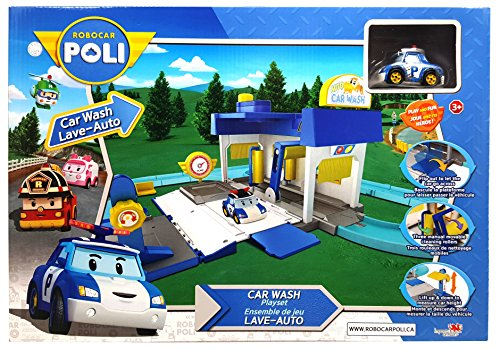 Robocar Poli Playset - Car Wash (Robot Poli)