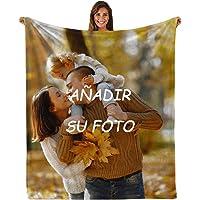 Mantas Personalizadas con Fotos - Manta de Franela Impresa Súper Suave Manta con Foto Personalizada Regalo para…
