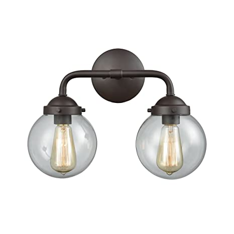 46cd3d84fa6fe Elk Lighting CN129211 Beckett 2-Light for The Bath in Oil Rubbed ...