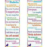 Dear Students Two-Sided Banner - English/Spanish