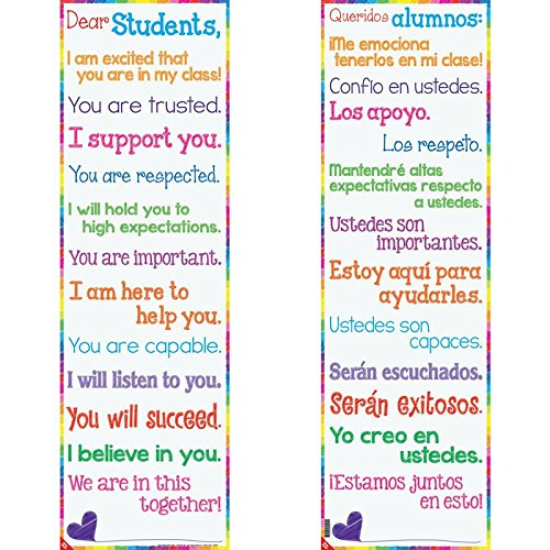 Dear Students Two-Sided Banner - (Classroom Banners)