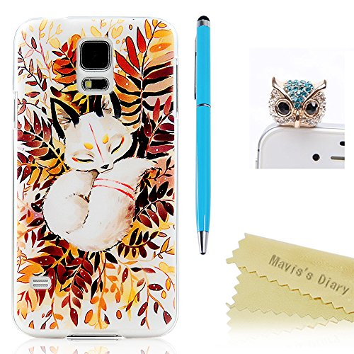 Transparent Rubber Case for Samsung Galaxy S5 i9600 G900 (Clear) - 2