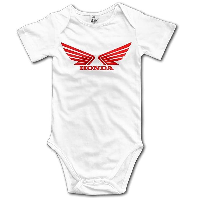 Sokie Body para bebé Pelele Mono bebé Ropa Trajes Honda Logo: Amazon.es: Ropa y accesorios