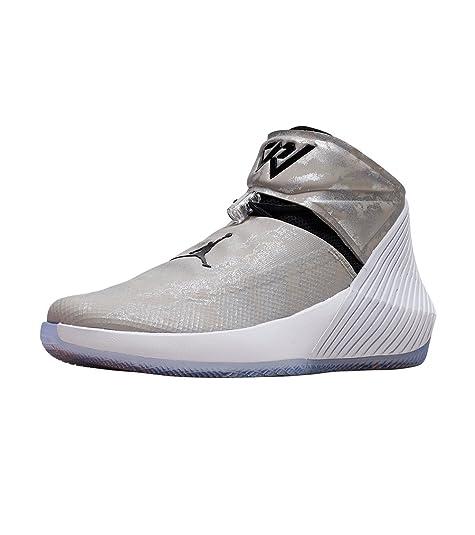 new styles 585cb f5c1f Nike Jordan Why Not ZER0.1 Zapato para Hombre, Gris Negro Blanco