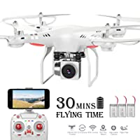 Benyi RC Drone,WiFi 720P Wide-Angle HD Camera Deals