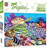 MasterPieces Tropics Sea Turtle Cove Large 300 Piece EZ Grip Jigsaw Puzzle by Carolyn Steele