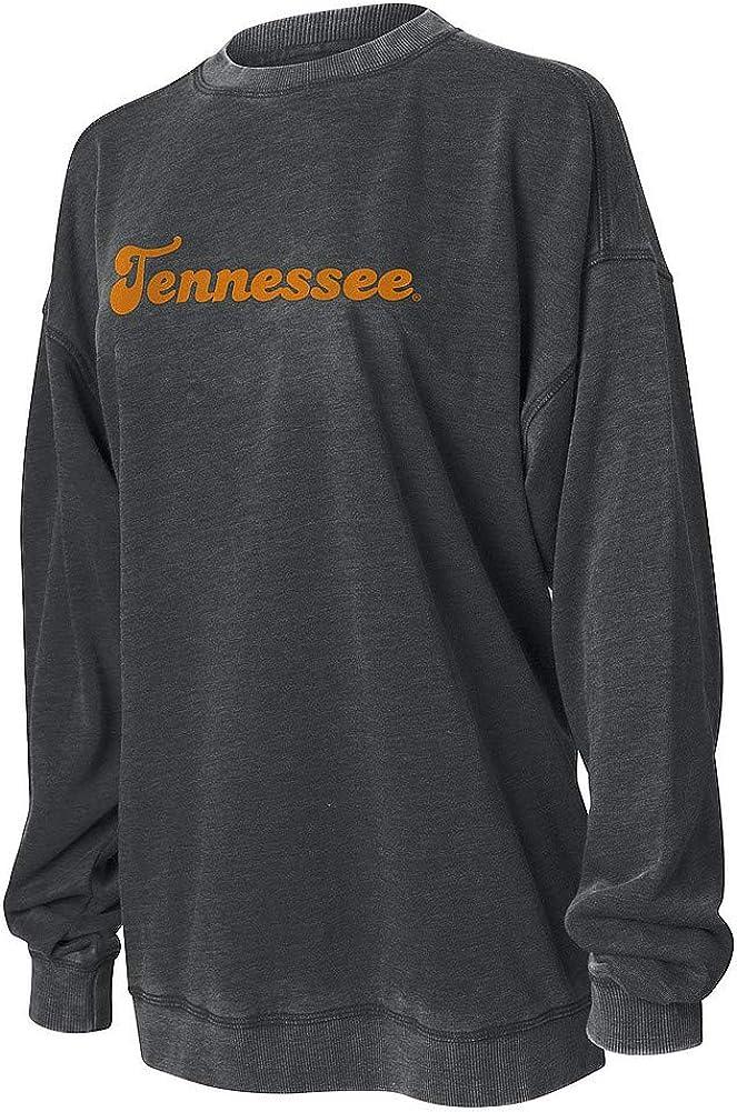 Elite Fan Shop NCAA Womens Crewneck Sweatshirt Burnout