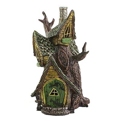 Fairy Home Faerie Garden Treehouse: Garden & Outdoor