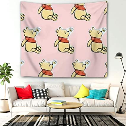 Amazon.com: DISNEY COLLECTION Tapestry Pooh Wallpaper ...