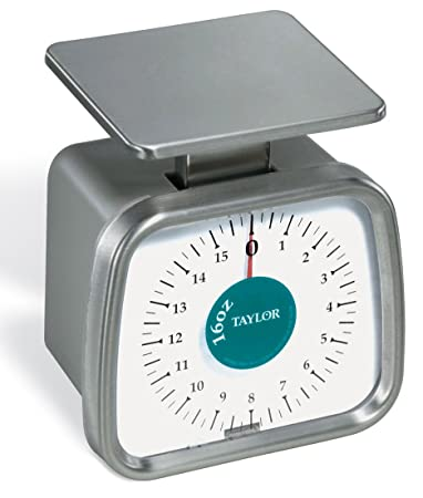 Taylor Precision Products Compact Analog Portion Control Scale (16 Ounce)