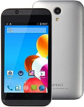 Aucun Contrato Smartphone débloqués 4 Pulgadas iPro Wave 4.0 Dual Core MTK6572 SIM Celular Android 4.4.2 512 M RAM 4 G ROM Grosses Soldes: Amazon.es: Electrónica
