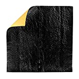3m sound deadening pads - 3M Sound Deadening Pads, Self-Adhesive Sheets, Black One Pad Each