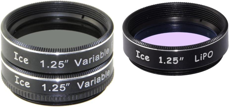 ICE 1.25 Variable Polarizing Eyepiece Moon Filter for Telescope Polarizer