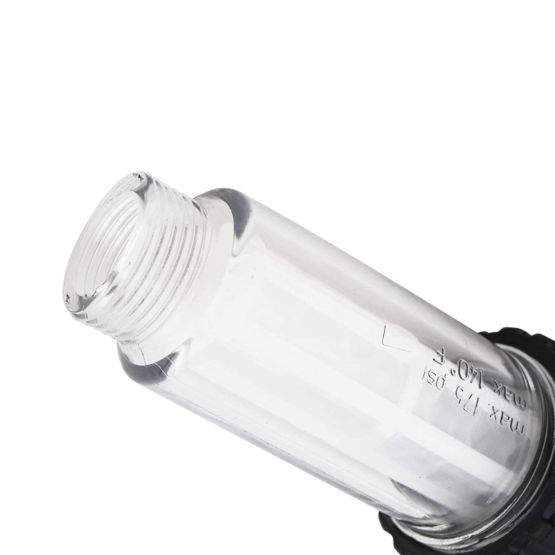Filtro de Agua para Manguera de jard/ín de pl/ástico G3//4 y G3//4 ENET