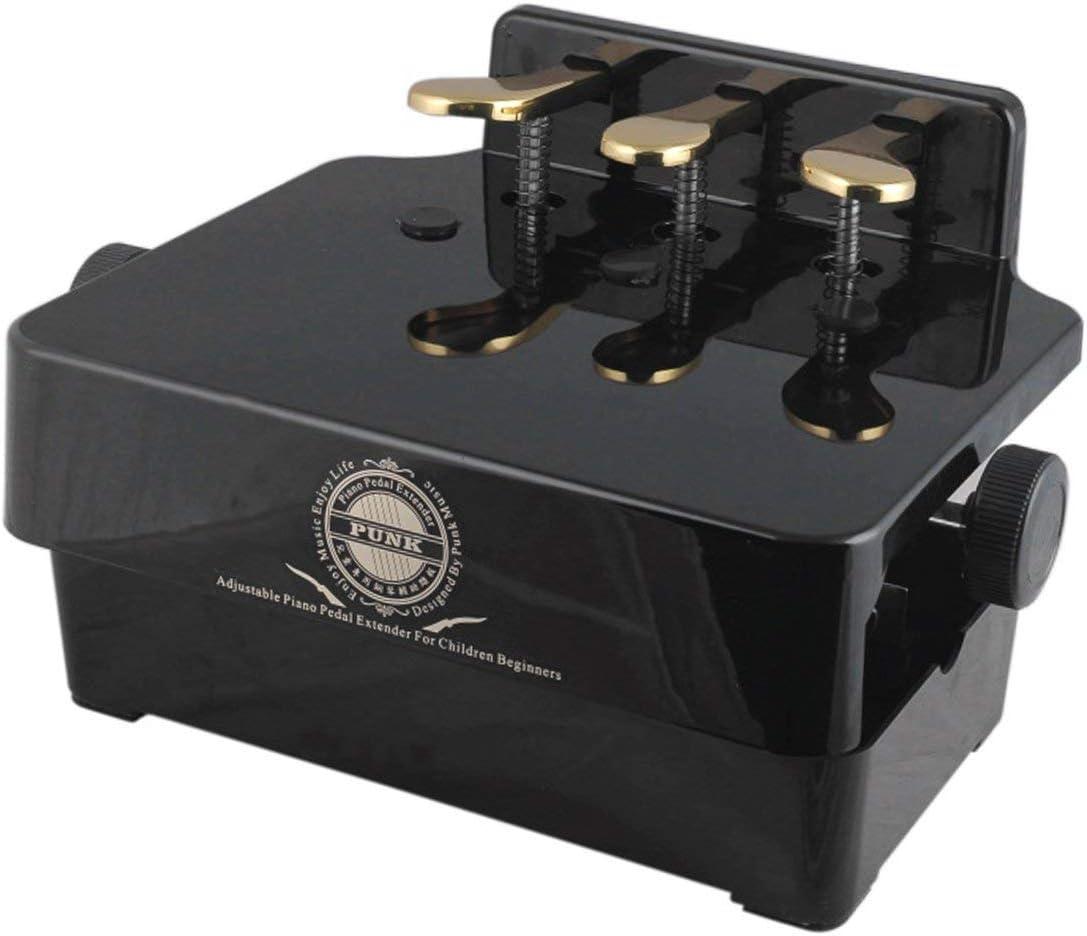 PA-23 Pedal de piano ajustable Extender Pedal de banco Asistente ...