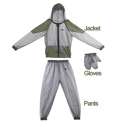 Amazon.com: kbxstart Mosquitera de malla, chaqueta de ...