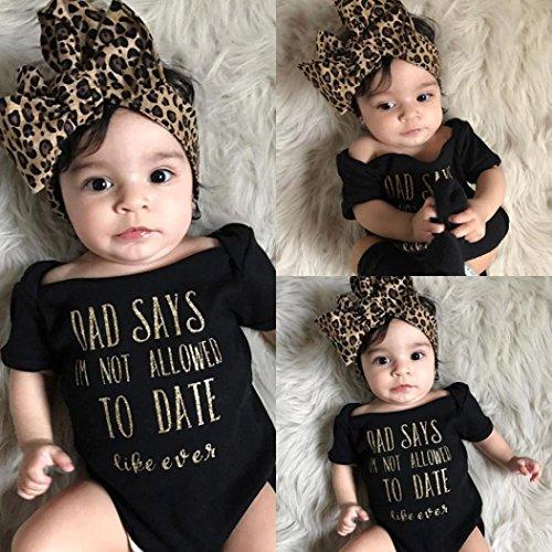 Lovely Btruely Herren Ropa Bebe 3-18 meses Recién nacido bebé niñas carta  mameluco Bebe b37a928ddd14