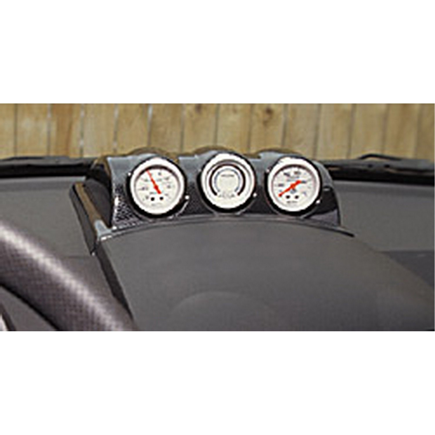 Auto Meter 20009 Gauge Works Triple Dash Pod