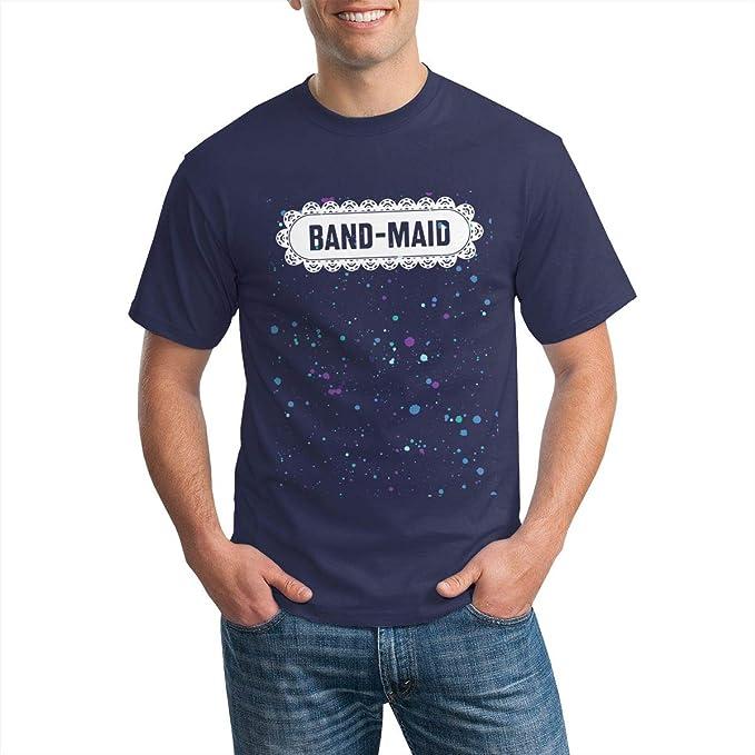Band-Maid Logo Camiseta de Manga Corta para Hombre Ropa ...