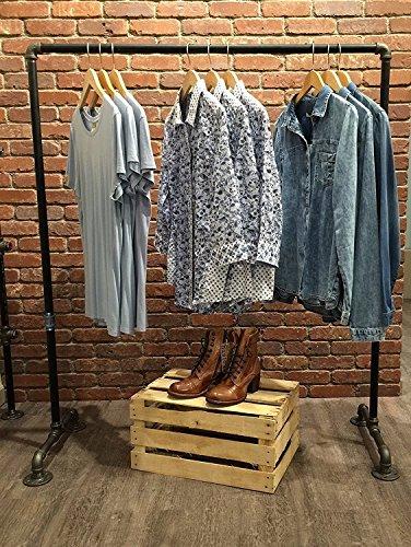 iron clothes rack - 9