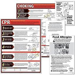 ComplyRight ERDEU DE Restaurant Poster Kit