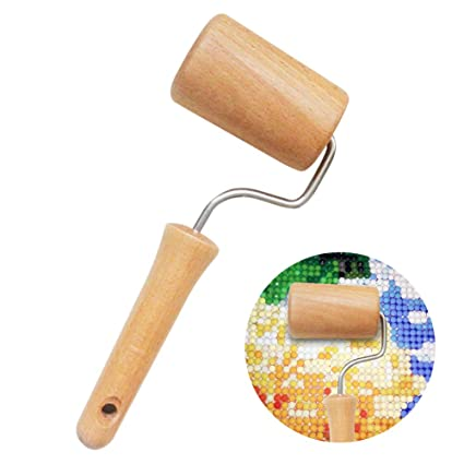 5D Diamond Painting Tools /& Wood Tightly Roller For Rhinestone Embroidery DIY UK