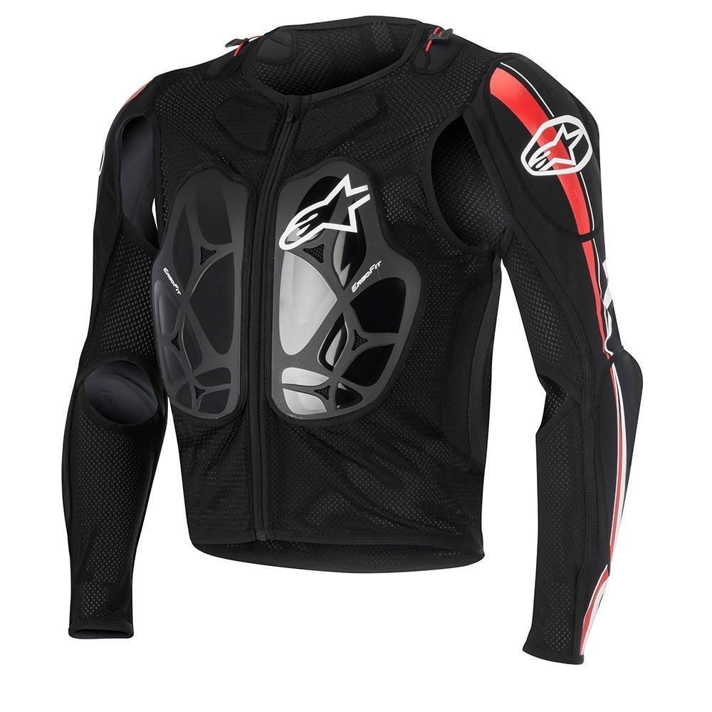Alpinestars 6506616-132-M Bionic Pro Jacket (Black/Red/White, Medium)