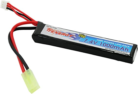 Tenergy 7.4V Airsoft Battery