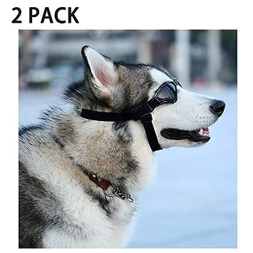 DLDL Gafas para Perros y Motos de Sol para Mascotas Gafas de ...