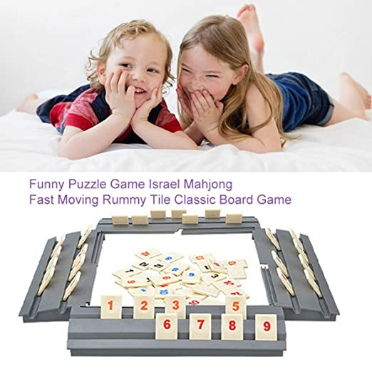 Divertido Juego de Rompecabezas Israel Mahjong Fast Moving Rummy ...