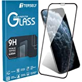 TERSELY 6D Full Coverage Screen Protector for iPhone 11 / XR, Full Cover Tempered Glass Screen Protector for Apple iPhone 11 / XR (6.1 inch) [Anti Fingerprint] [Case Friendly] - Black