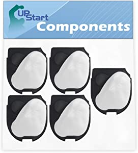 5-Pack DCF-11 Filter Replacement for Eureka DCF-27 Vacuum Cleaner - Compatible with Eureka DCF-11 62558A Filter