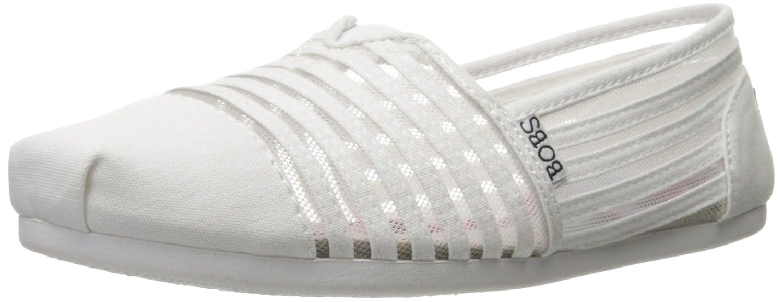 Bobs Aus Skechers Kuuml;hlung Luxus Schuh  9 B(M) US|White Adorbs