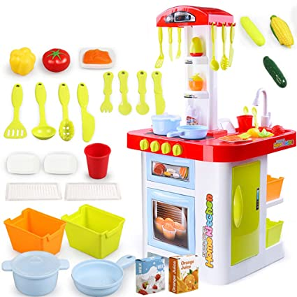 Amazon Com Siyushop 36 Pieces Play Kitchen Food Fake Plastic Food