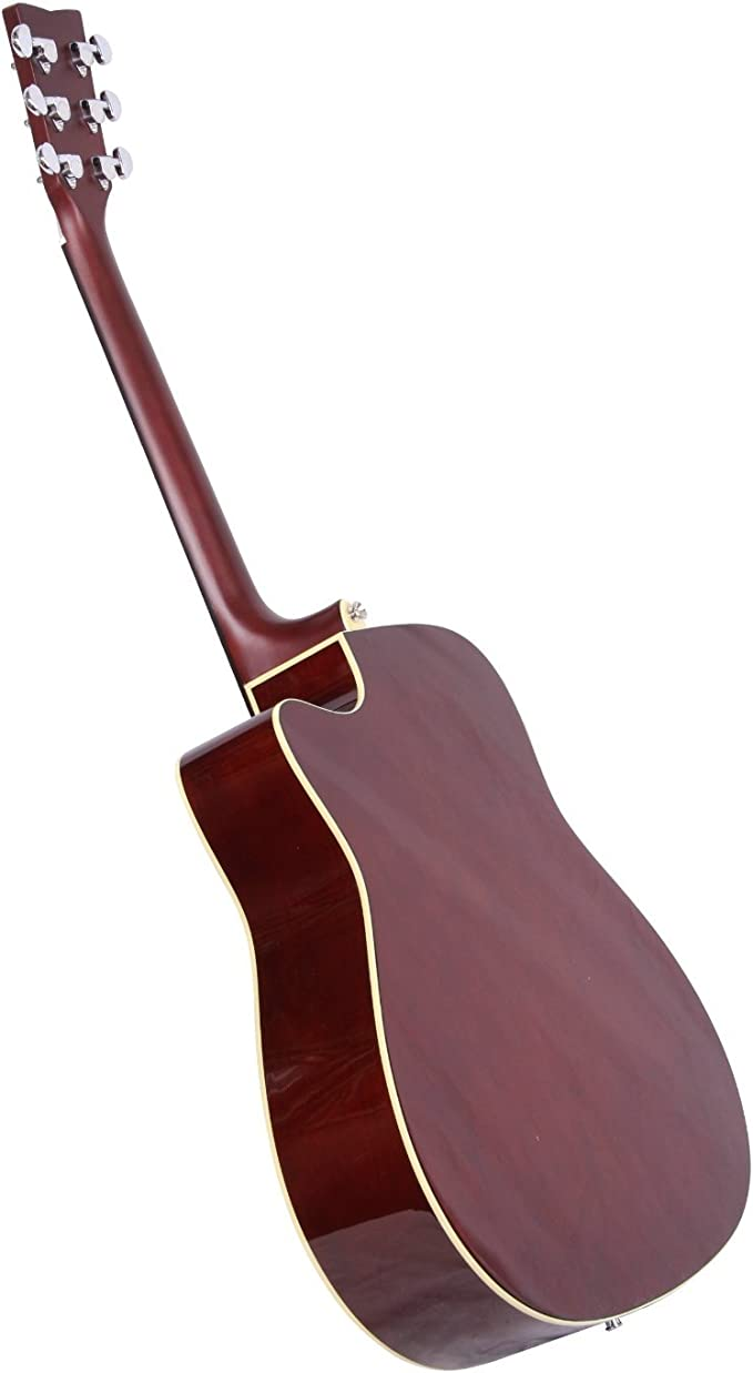 Yamaha FX370CBL - Guitarra acústica, color negro: Amazon.es ...