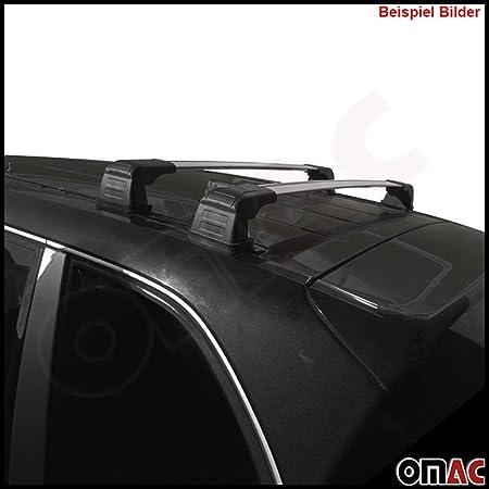Omac Grau Dachreling Für Tourneo Courier 2014 2020 Mit Schlüssel Paralleles V3 Auto