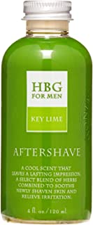 product image for Honeybee Gardens Herbal Aftershave, Key Lime, 4 fl. oz.