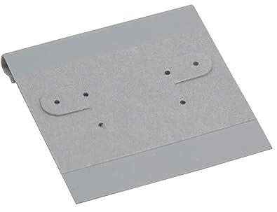 Tarjetas para colgar pendientes de 100 grises para contador ...