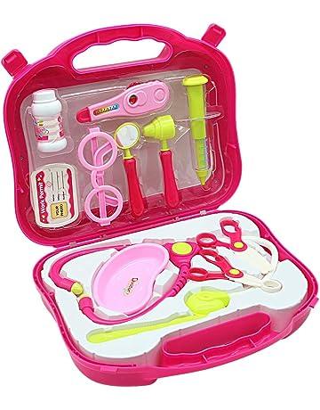 Conjunto médico de juego médico Doctora Juguetes Maletin Médico juguetes Juego de Medicos con Luz y