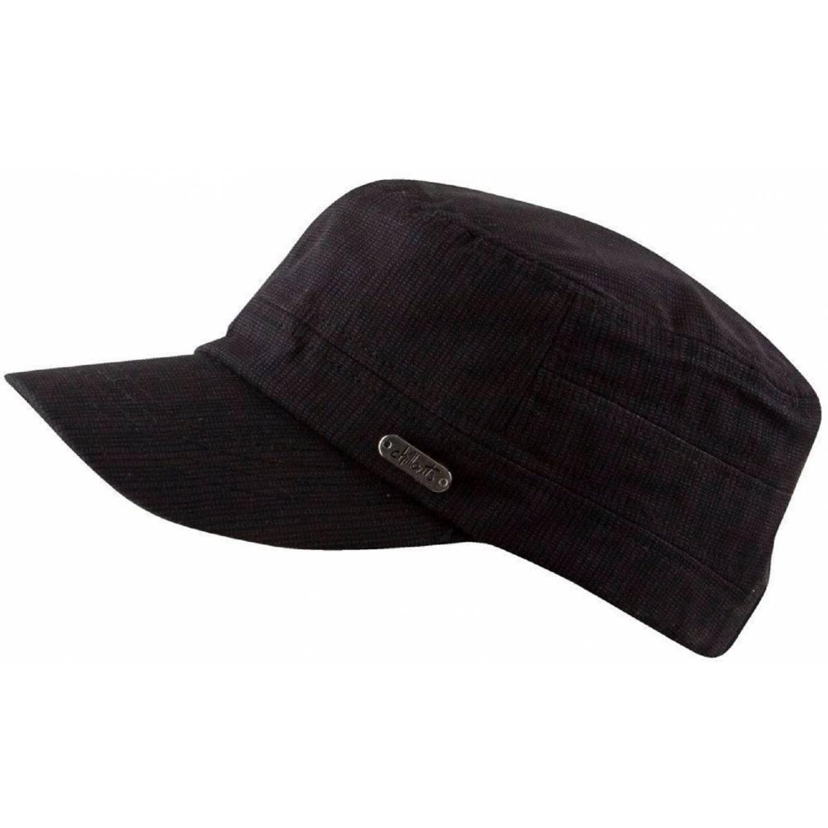 Chillouts Katmandú tiene sol Cap Hombre y Mujer en el color negro.