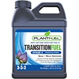 Plant Fuel Nutrients   TRANSITION FUEL   Liquid Fertilizer for Soil, Hydroponic and Other Grow Mediums. Formulated for the Transition between Vegetative and Bloom stages of your plant (Quart)