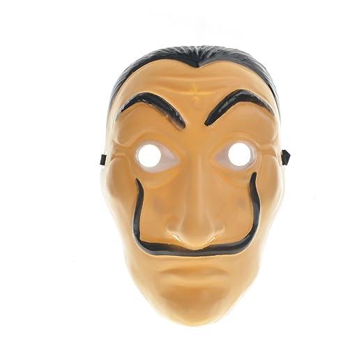 toyofmine La Casa De Papel Mask Salvador Dali Mascara Money Heist Cosplay Props