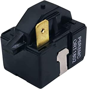 What's Up P6R8MC OEM Replacement Part for Refrigerator Start Relay Replaces 6748C-0003D