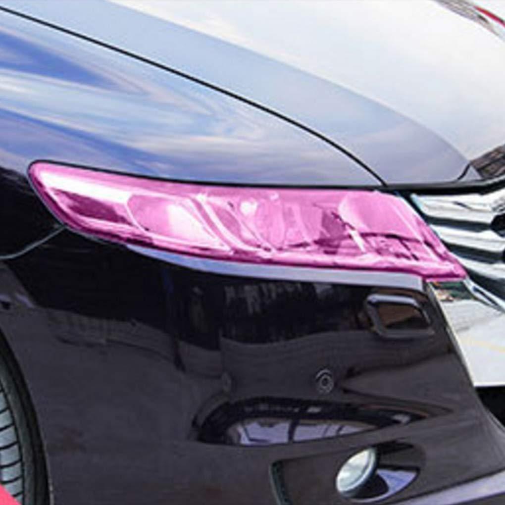 Automobile /él/égant PVC l/éger Protecetor Film color/é pour Voiture phares antibrouillard Feu arri/ère Regard
