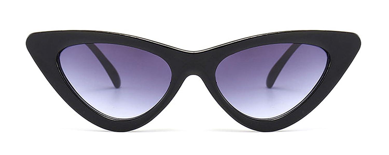 8a89517bfd0f8 Amazon.com  nboba cute sexy retro cat eye sunglasses women small black white  2018 triangle cheap sun glasses red female uv400 as shown in photo  Clothing